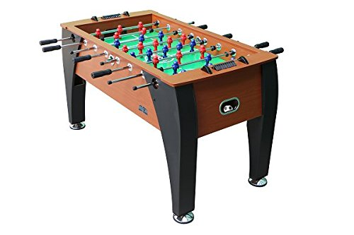 KICK Foosball Table Legend, 55 in (Brown)