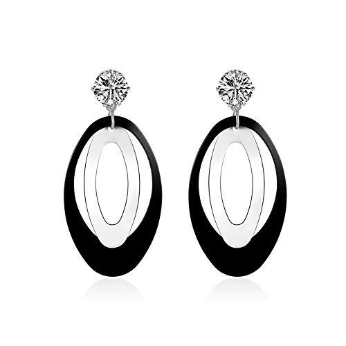 EVERRICH Gorgeous Sparkling Multicolor Earrings product image