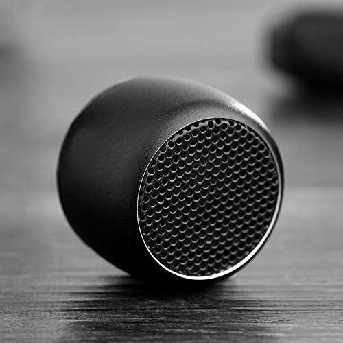 iXtech Micro Bluetooth Speaker w Selfie Shutter Button Enhanced Bass Voice Mini Speaker