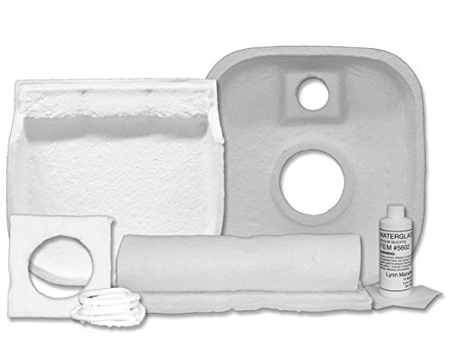 Gold Oil Boiler (Replacement Combustion Chamber Kit, Weil-McLain WTGO, WGO, SGO, 386-700-355)