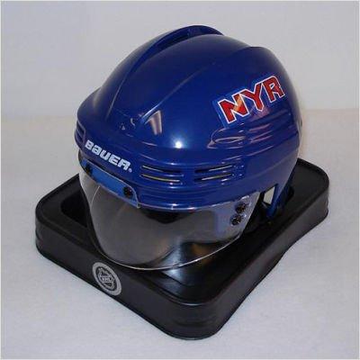 - NHL New York Rangers Replica Mini Hockey Helmet