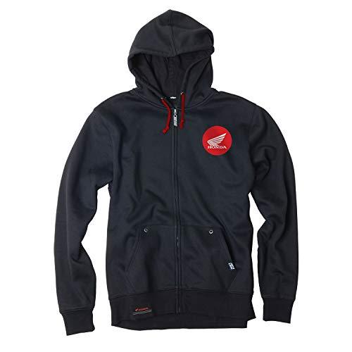 Factory Effex Honda Badge Zip Hoody (Medium) ()