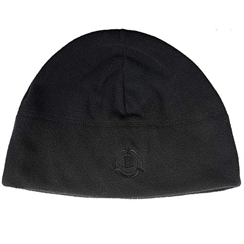 Orca Tactical Fleece Watch Cap Military Beanie Hat Unisex, One Size Fits All (Black)