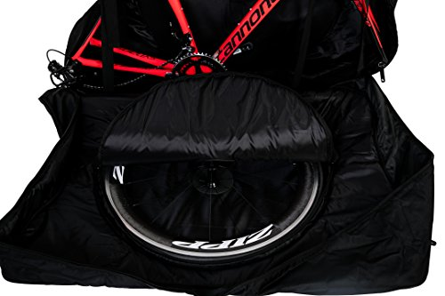 Spartan Road Bike Travel Bag Scientifically Designed Convenience for Aeroplanes, Trains or Car Travel