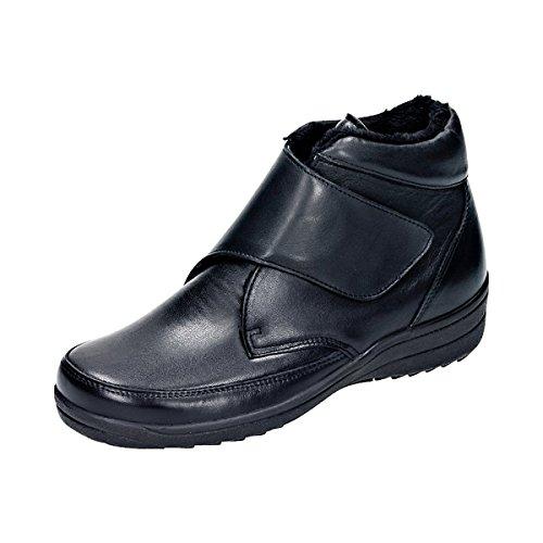 Damen Comfortabel Stiefel 990742 schwarz Schwarz 1 ABWW6wagq