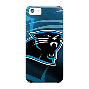 Iphone 5c Dsg8614kppL Support Personal Customs Stylish Carolina Panthers Series Shock Absorption Hard Cell-phone Case -AaronBlanchette