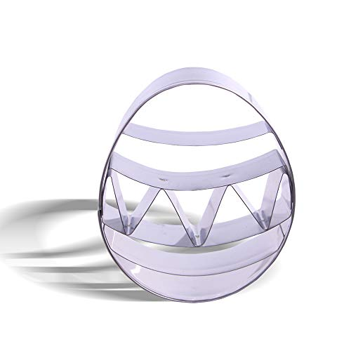 3 Inch Small Easter Egg Cookie Cutter - Stainless Steel