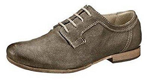 Zapatos verde para de caqui cuero cordones MANAS de mujer Schnürer aZ5qHHS