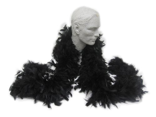 WeGlow International WGI Feather Boa - Black (1