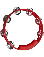 RhythmTech TC4038 8-Inch True Colors Tambourine, Red