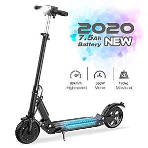 GeekMe Elektroroller E-Scooter mit 3 Geschwindigkeitsmodi