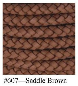 Saddle Braided Bolo Cord, 6MM (1/4'') x 10M (10.9 YD)
