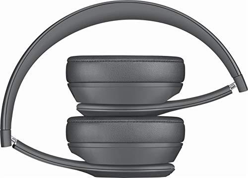 Beats Solo3 Wireless On-Ear Headphones - Neighborhood Collection - Asphalt Gray (Renewed) by Beats (Image #3)