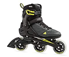 Macroblade 100 3WD is one of the fastest skates with superior lateral support. The higher boot design works well with the 3x100 set up to release one's inner racer. This skate is a great bridge product between the race and recreational skate ...