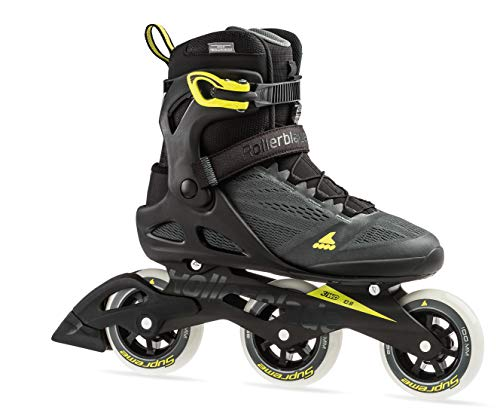 - Rollerblade Macroblade 100 3Wd Men's Adult Fitness Inline Skate, Anthracite/Neon Yellow, Medium 13