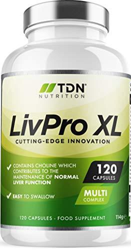 Liver Pro – 120 Capsules – UK Made Liver Support Supplement – Liver Tablets – 15x Natural Active Ingredients – Massive 8…