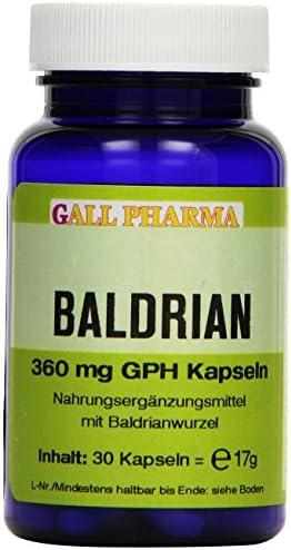 Gall Pharma Baldrian 360 mg GPH Kapseln, 1er Pack (1 x 30 Stück)