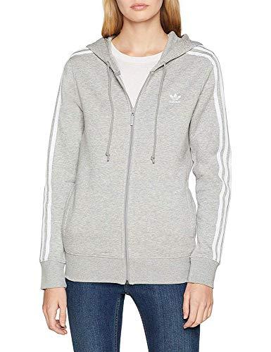 He 3str Adidas Grey Zip Felpa Medium Heather Donna g7qCOwxq
