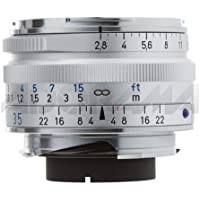 Ikon Wide Angle 35mm f/2.8 C Biogon T* ZM Manual Focus Lens in Silver