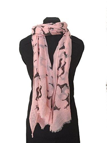 pamper-yourself-now-womens-big-greyhound-scarf-170cm-x-70cm-peach-with-black