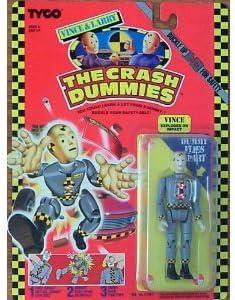 Vintage 1991 Tyco Crash Dummies LARRY FIGURE