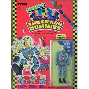 Vintage Crash Test Dummies Action Figure :