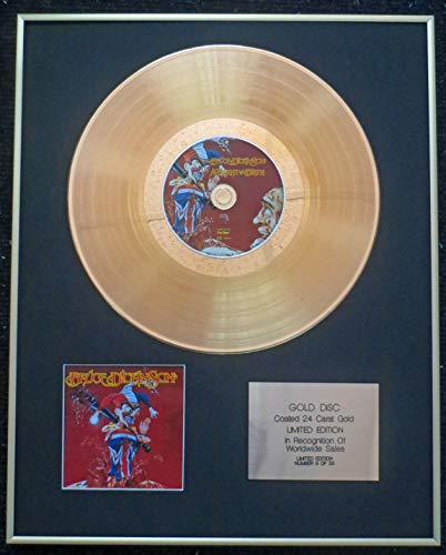 Century Presentations - Bruce Dickinson (of Iron Maiden) - Exclusive Limited Edition 24 Carat Gold Disc - Accident of Birth