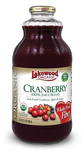 Lakewood Organic Cranberry Juice Blend 32.0 FO (Pack of - Lakewood Stores