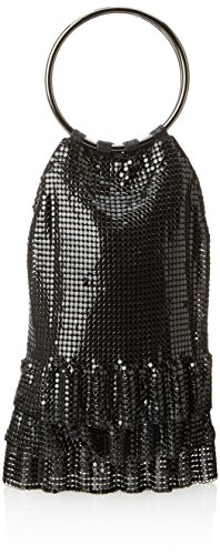 whiting-davis-metal-mesh-ruffles-evening-bag-black-one-size