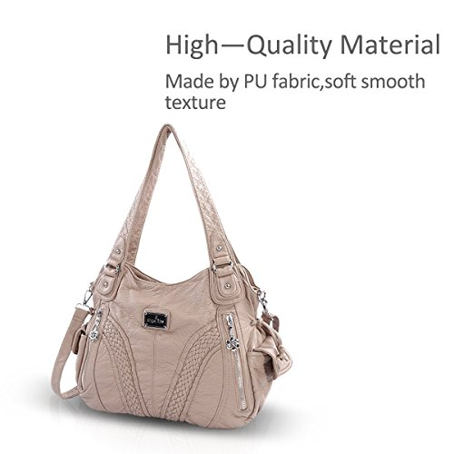 Crossbody Beige Casual Bag Woman 1 NICOLE DORIS amp; Hobo Handbag Shoulder xqAAOCZw