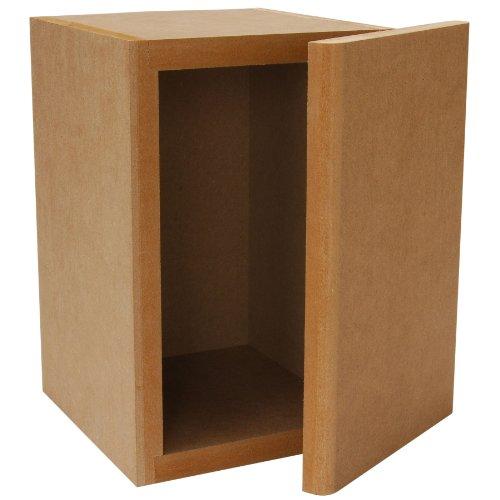 Parts Express Knock-Down MDF 0.23 cu. ft. Mini Bookshelf Speaker (Mdf Speaker Cabinets)