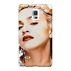 Excellent Cell-phone Hard Covers For Samsung Galaxy Note 4 With Customized Vivid Madonna Pictures AlissaDubois
