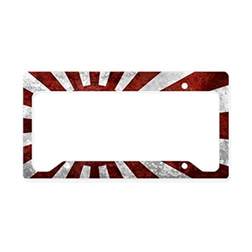 CafePress Japanese Rising License Aluminum