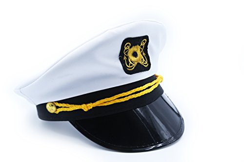 [Boat Captain Hat - - Play KreativeTM] (Ship Captain Costumes)