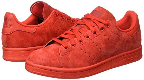 adidas Stan Smith, Sandalias con Plataforma Unisex Red/Red/Powred