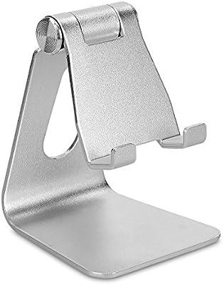 kwmobile Soporte universal de metal para smartphone y tablet ...