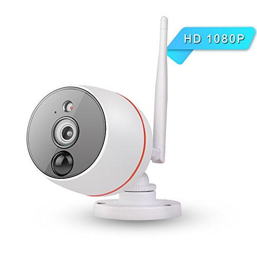 1080P Home security camera system Outdoor camera wireless wifi ip camera with night vision/motion detection,Waterproof bullet Surveillance Cameras/Pet cameras wireless wifi webcam for SD card