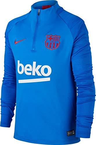 Nike 2019-2020 Barcelona Drill Training Top (Blue) - Kids (Fc Barcelona Kids Long Sleeve)