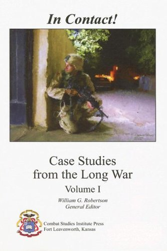 In Contact! Case Studies from the Long War, Volume 1