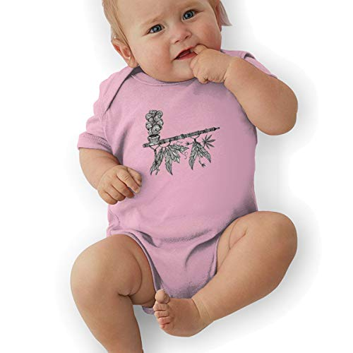 Price comparison product image Nutmix Baby's A Smoking Tobacco Pipe Neutral Climbing Suits Pink 6M