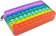 Estojo para Caneta - Brinquedos Sensoriais, Saco de Armazenamento de Artigos de Papelaria, Brinquedos de Desco