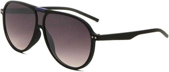 Mens Flat Top Plastic Aviator Speed Racer Sport Retro Sunglasses Brown