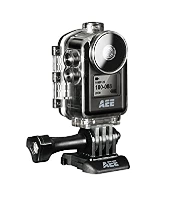 AEE Technology Action Cam MD10 1080P/30 8MP Ultra Compact Body Wi-Fi Waterproof Wireless Action Camera with 2.0-Inch LCD (Black)
