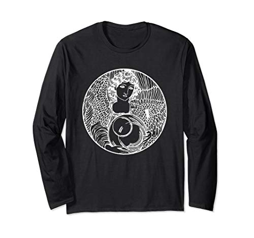 Iris - Goddess of the Rainbow Greek Mythology Ancient Greece Long Sleeve T-Shirt