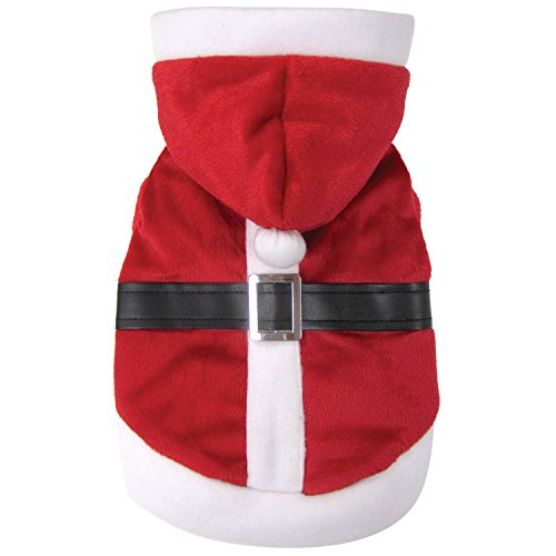 FouFou Dog 62571 Reversible Santa and Penguin Costume for Dogs, (Penguin Santa Costume)