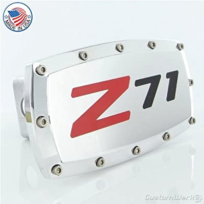 Chevy Z71 Logo Tow Hitch Cover: Automotive