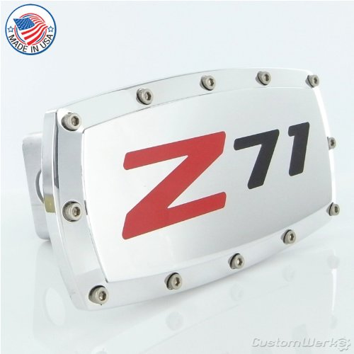 Chevy Z71 Logo Tow Hitch Cover