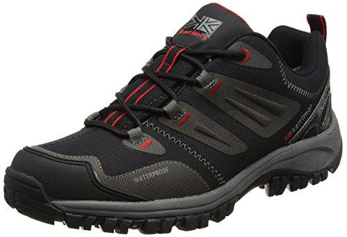 Karrimor Adventure Weathertite, Zapatos de Low Rise Senderismo para Hombre Negro (Black)
