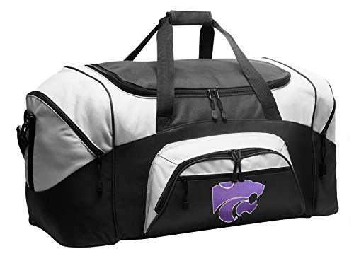 Large K-State Duffel Bag Kansas State Suitcase or Gym Bag for Men Or Her