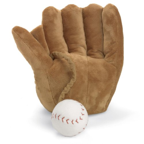 North American Bear Company Baseball and Mitt Musical, Brown
